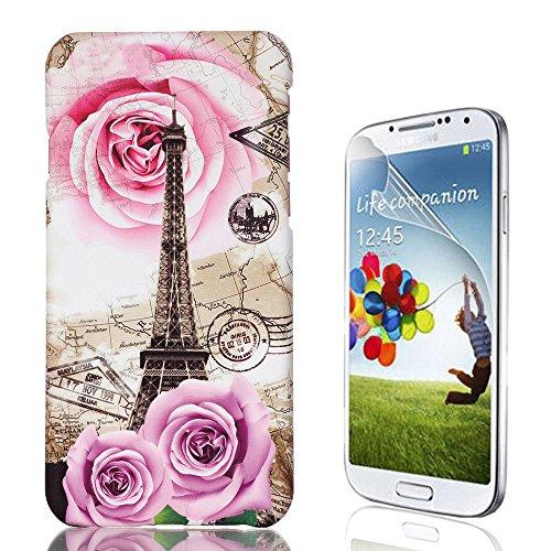 Samsung Galaxy S7 Custodia, Samsung Galaxy S7 Cover, Bonice Ultra Sottile PC Hard Back Antiurto Shock-Absorption Durable Case Elefante + 1x Protezione Dello Schermo Screen Protector Pattern 04