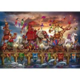 Schmidt Ciro Marchetti Circus Procession Jigsaw Puzzle (1000-Piece)
