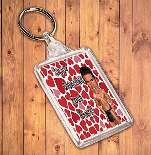 Preisvergleich Produktbild Funny / Rude Geschenk Sexy Hunk Schlüsselanhänger – für die Simon Cowell Admirer