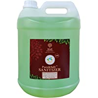 Khadi Essentials Pure&Safe Instant Hand Sanitizer Refill Pack with 70% Ethyl Alcohol, Neem, Tulsi & Aloe Vera Extracts…