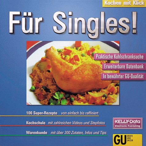 Preisvergleich Produktbild Kochen mit Klick, CD-ROMs, Für Singles!, 1 CD-ROM