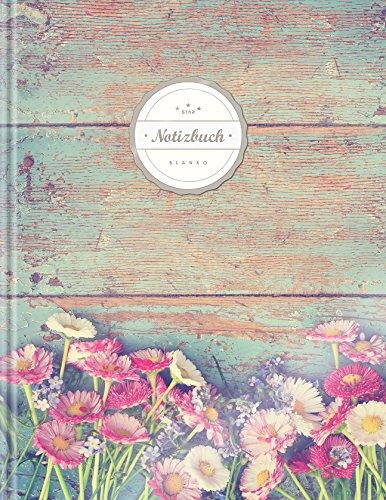 Blanko Notizbuch (©Star, A4, 156 Seiten, Softcover) || Mit Register + Seitenzahlen || Leeres...