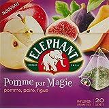 Elephant Infusion Pomme par Magie/Pomme Poire Figue 20 Sachets - 38 g