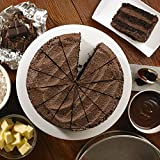 Handmade Cake Frozen Vegan Belgian Chocolate Fudge Cake - 1x14ptn