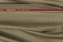 Raymond Trouser Fabric 1Pc 1.3Meter Trouser Length for Men's Solid Brown