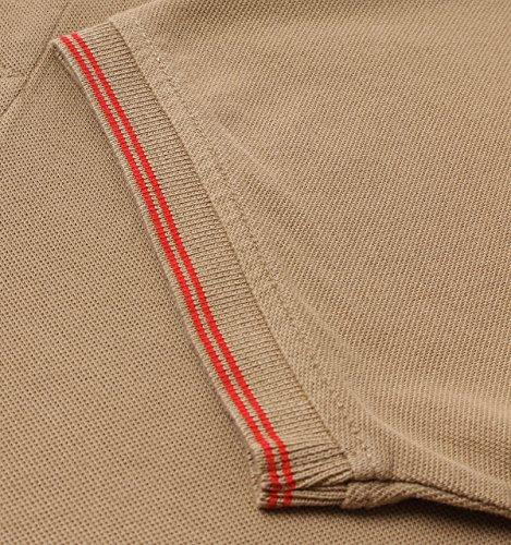 Luke 1977 Herren Poloshirt Sand Marina Red