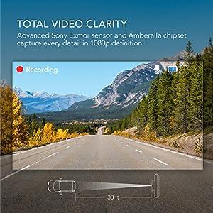 Dashcam-Anker-Roav-C2-FHD-1080P-Auto-Kamera-mit-3-Zoll-LCD-Vier-Spuren-Weitwinkel-G-Sensor-WDR-Schleifenaufnahme-und-Nacht-Modus-inkl-Anker-2-Port-Kfz-Ladegert