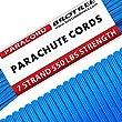 Brotree Paracorde 550 Corde Parachute 7 Brins en Nylon Corde de Survie Type III Spécification Militaire ?Standard, Réfléchissante?
