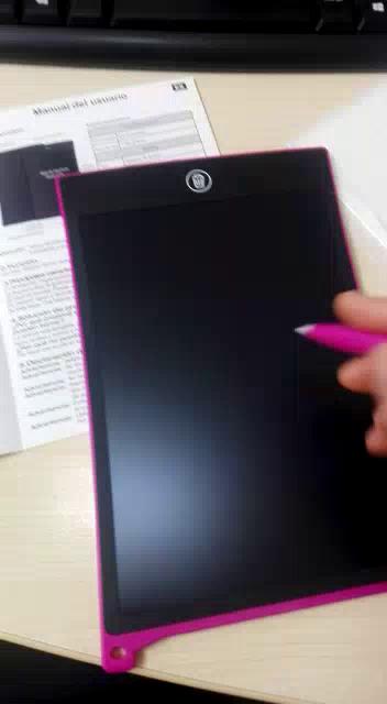 HOMESTEC Color Tablet de 8,5pulgadas de Escritura, LCD Tablero de Dibujo Gráfica Pizarra Magica de Mensaje Memo Pad Electrónico con Lápiz Regalos para ...
