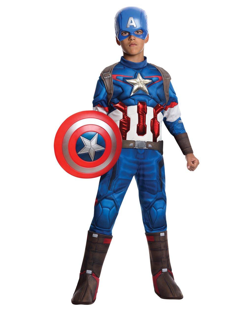 Comprar Rubies Disfraz infantil de Capitán América en Los Vengadores: La Era de Ultrón - Tiendas Online de Disfraces con Envíos Baratos o Gratis ></noscript>>>