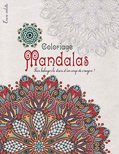 Coloriage Mandalas grand Format