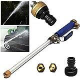 Hogedrukspuit Voor Het Wassen Van Auto's Irrigatie Van Planten Douchen Van Huisdieren Spuitpistool Met Sproeikop Waterpistool