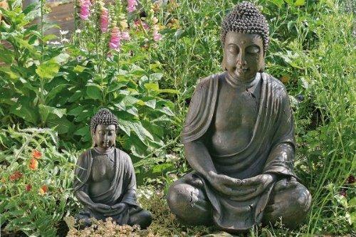 decodificación de Buda, Figura de Buda, Buda sentado Aprox. 40 cm alto