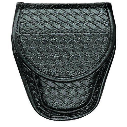 7900, Covered Cuff Case Basketweave Black
