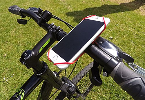 Endo The Smartphone Holder For Handlebar Securely Holds Phone or iPod on Bicycle, Shopping Trolley or Any Handlebar. Made From Durable Silicon in Multiple Fashionable Colors. Easy to Use, Installs in Seconds