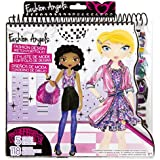 Fashion Angels Fashion Design Colouring Portfolio by Fashion Angels