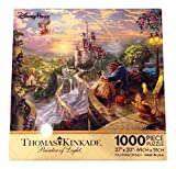 Disney Parks Thomas Kinkade Beauty and the Beast Falling in Love Puzzle 1000 Piece by Disney