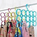 EITHEO Dupatta Hanger or Scarf Organizer- Great for Scarf, Shawl, Tie, Belt, Closet Accessory Wardrobe Hanger Organizer