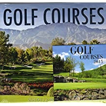 Golf Courses 12 Month 2015 Calendar with 12 Month Mini Calendar by Greenbrier