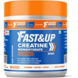 Fast&Up Creatine (83 Servings) Creatine Monohydrate to Sustain Longer Workout, Muscle Repair & Recovery, Unflavored