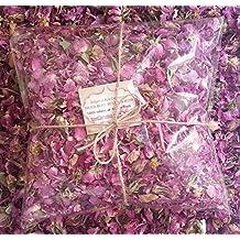 Pétalos de rosa 100% natural y con rosa de bulgaria aromático flores secas, 100g