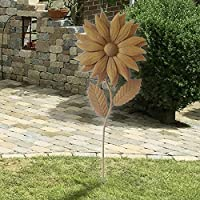 Gartenstecker,Sonnenblumen,4er Set,30cm hoch