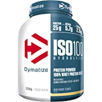 Dymatize ISO 100 Birthday Cake 2,2kg - Whey Protein Hydrolysat + Isolat Pulver