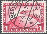 Goldhahn Deutsches Reich Nr. 455 gestempelt Luftschiff Graf Zeppelin 1931 Briefmarken für Sammler