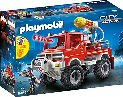 Playmobil 9466 - Camion Spara Acqua dei Vigili del Fuoco