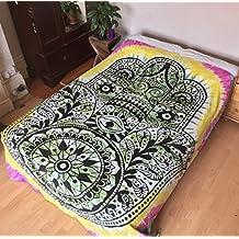 India doble cama Colcha Cama Colgante De Pared tapiz cama sofá mantas