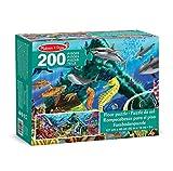 Melissa & Doug 18907 Underwater Oasis Jumbo Jigsaw Floor Puzzle (200 pcs, over 1 meter long)