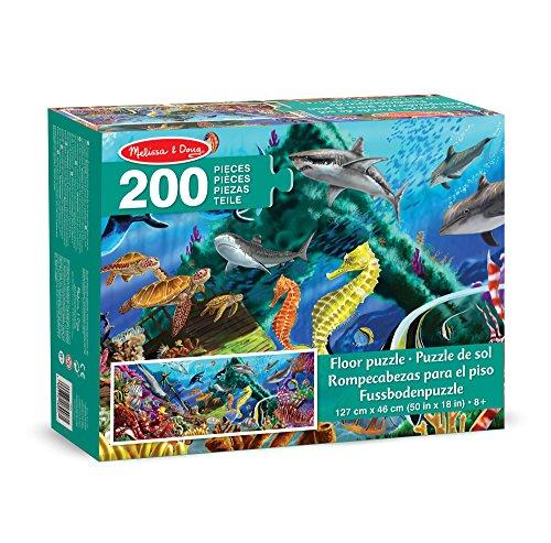 melissa-doug-18907-underwater-oasis-jumbo-jigsaw-floor-puzzle-200-piece
