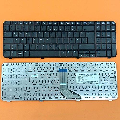 kompatibel für HP Compaq Presario CQ61, G61 Tastatur - Farbe: schwarz - Deutsches Tastaturlayout (Compaq Cq61)