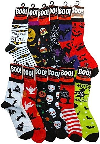 n's Halloween Novelty Cute Socks (Assorted B) (Spider-woman Outfit)