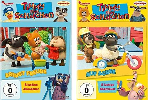 2 DVDs - Timmy das Schäfchen : bringt Freude + auf Achse im Set - Deutsche Originalware [2 DVDs] -