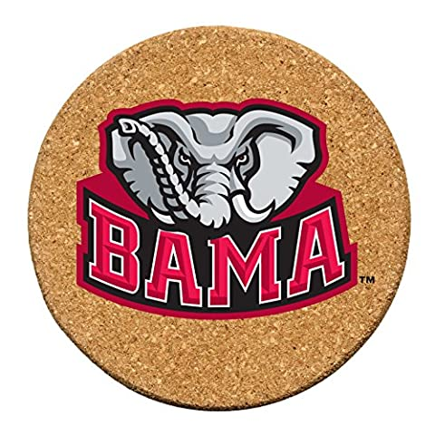 Collegiate Cork Coaster Set University of Alabama