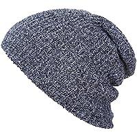 Unisex Autunno Cappello di Inverno Cappello Caldo Cappellino Moda,Grigio Scuro