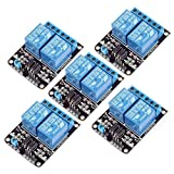 5pcs 5V Dual Channel Relay Module Board for Home Automation, High Voltage Appliances Control from Optimus Electric