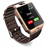 Speeqo DZ09-Gold 786 for Vivo 4G Smart Watch with Camera, Memory Card and SIM Card Support and Fitness Tracker…