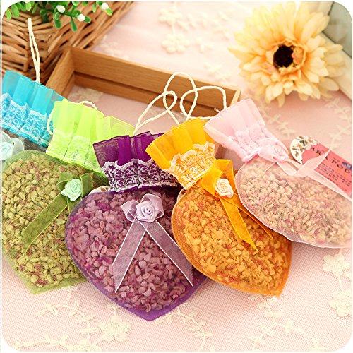 ShouYu Gruppe von 6 Home getrocknete Blume Lavendel Beutel indoor Feuchtigkeit und Insekten aromatherapy Paket 0520 Kleiderschrank anti-schimmel Weihrauch, der Duft (Weihrauch Blume)
