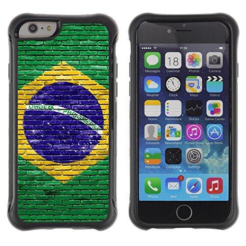 Graphic4You ALIEN SYMBOLS Muster Shockproof Anti-Rutsch Weichen Hülle Case Tasche Schutzhülle für Apple iPhone 6 / 6S Design #6