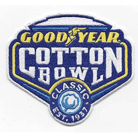Good Year Cotton Bowl Game Jersey Patch Michigan State vs. Alabama (2015) by Patch Collection