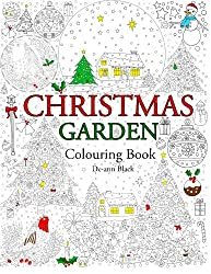 Christmas Garden: Colouring Book