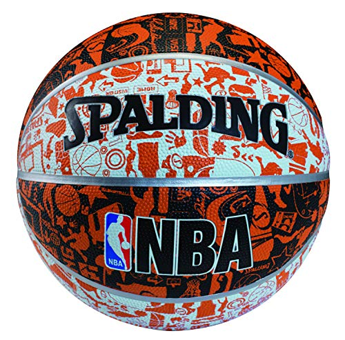Spalding NBA Graffiti Basketball Size-7 (Multicolor)