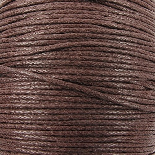 1mm-waxed-cotton-cord-thread-shamballa-macrame-jewellery-brown-10-metres