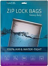Noaks Bag | Set – 5 Bags | Schutzhülle, ZIP-Beutel, Dry-Bag | 100 % wasserdicht, geruchsdicht & sicher | Für Urlaub, Sport & Reisen | Das Original