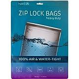 Noaks Bag | Set – 5 Bags | Schutzhülle, ZIP-Beutel, Dry-Bag | 100% wasserdicht, geruchsdicht & sicher | Für Urlaub, Sport & Reisen | Das Original