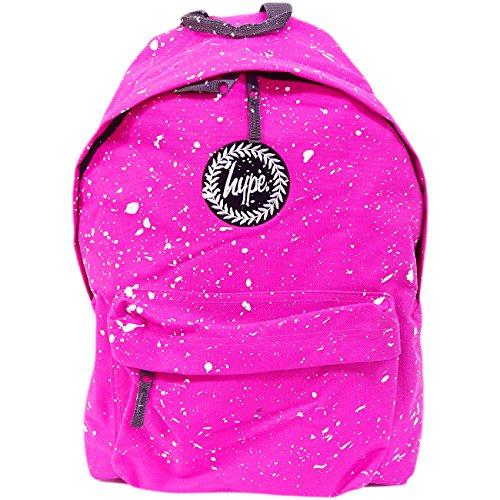 Just Hype  Hype bag kit (Splatter), Herren Schultertasche Einheitsgröße Fuscia Pink / White