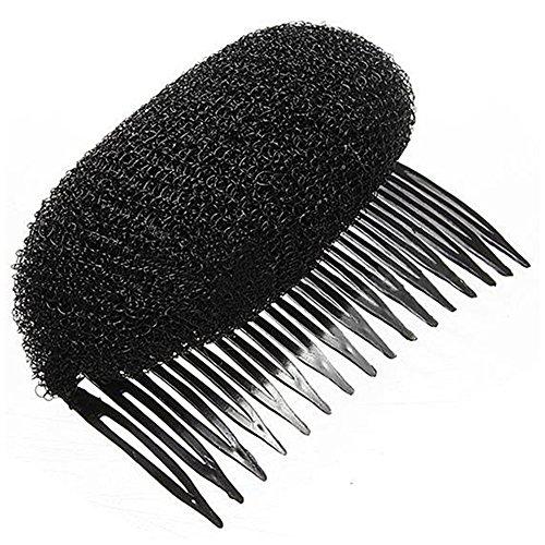 SODIAL(R) Haar Former Kamm Haare Erhoehen Haarpflege Haar Styling Zubehoer Hochsteckfrisur Schwarz