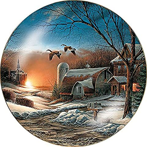 The Sharing Season II Collector Plate by Terry Redlin - Oche Di Terry